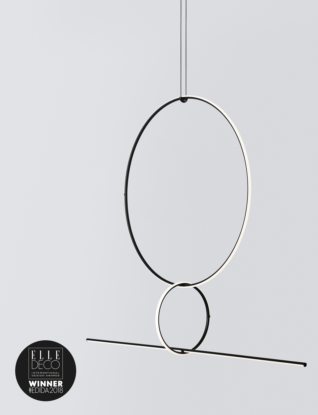 The new collection of modular chandeliers designed by M...