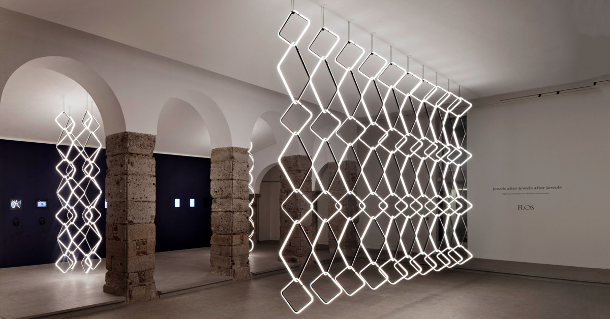 Designboom displays Michael Anastassiades' Arrangements...