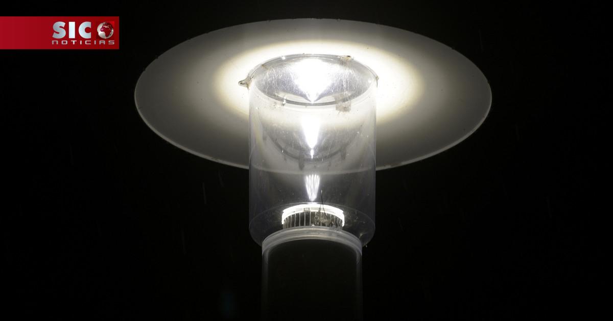 As lâmpadas LED brancas, apresentadas como o 'último gr...