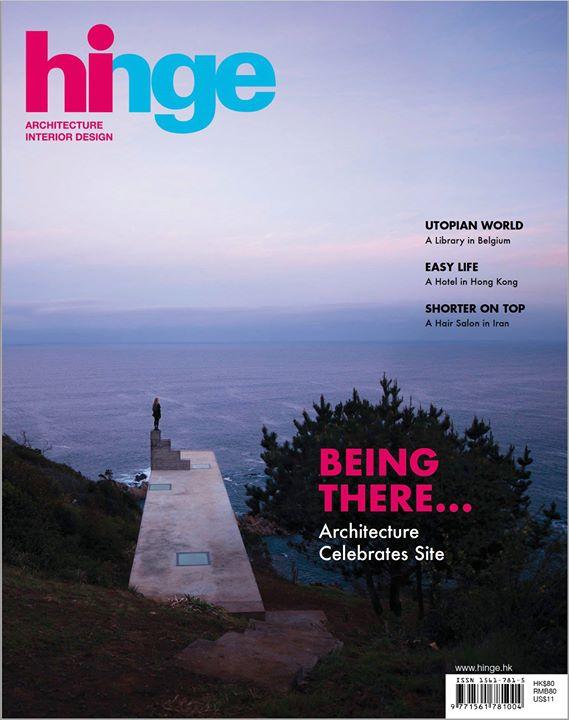 O nosso projeto na Hinge magazine, Hong Kong, obrigado!...