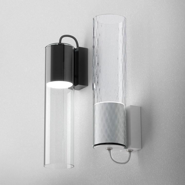 Nowy kinkiet Modern Glass Tube jest dostępny z dwoma wa...