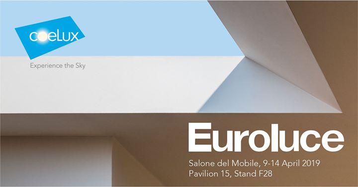CoeLux at Euroluce 2019, the International Lighting Exh...