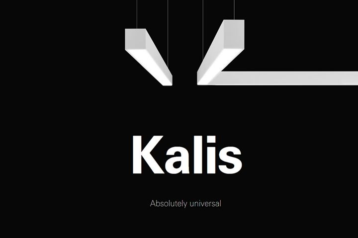 (PRODUCT) Kalis is a universally fitting luminaire. But...